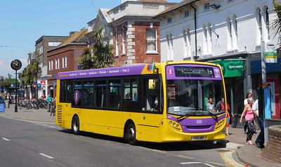 RATP Yellow Buses 521 - YX12AEF - Christchurch (High St)