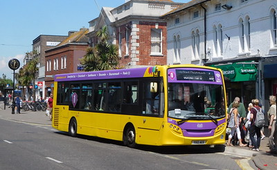 RATP Yellow Buses 520 - YX12AED - Christchurch (High St)