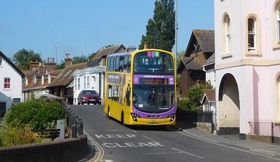 RATP Yellow Buses 187 - BL14LTA - Christchurch (Bridge St)