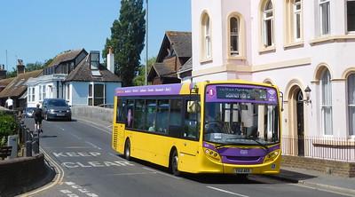 RATP Yellow Buses 522 - YX12AEO - Christchurch (Bridge St)