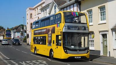 RATP Yellow Buses 204 - SN17MTY - Christchurch (Bridge St)