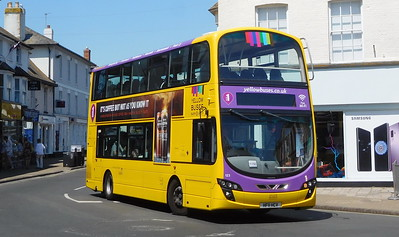 RATP Yellow Buses 123 - HF11HCV - Christchurch (High St)
