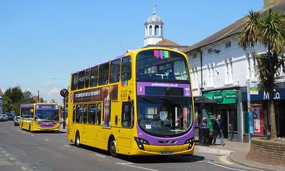 RATP Yellow Buses 187 - BL14LTA - Christchurch (High St)