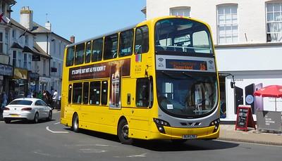 RATP Yellow Buses 191 - BL14LTK - Christchurch (High St)