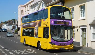RATP Yellow Buses 120 - HF11HCO - Christchurch (Bridge St)