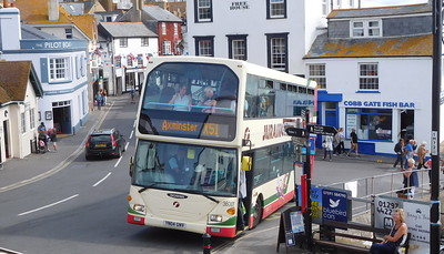 First Wessex 36001 - YN04GNV - Lyme Regis (square)