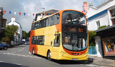 First Wessex 37997 - BF63HDV - Lyme Regis (post office)