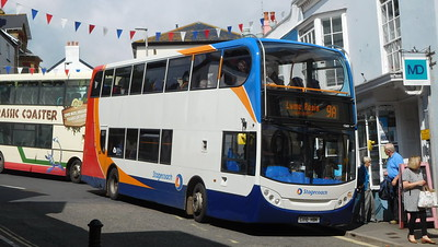 Stagecoach in Devon 15601 - GX10HBK - Lyme Regis (Post Office)