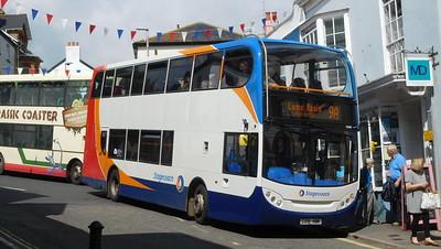 Stagecoach in Devon 15601 - GX10HBK - Lyme Regis (Post Office)