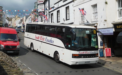 South West Coaches ECZ4634 - Lyme Regis (Post Office)