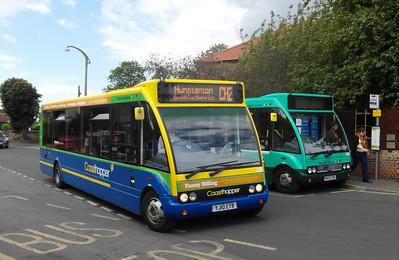 Norfolk Green 318 - YJ10EYB - Wells-next-the-Sea (The Buttlands) - 2.8.12