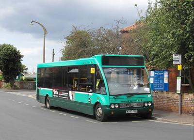 Norfolk Green 621 - MX53FDD - Wells-next-the-Sea (The Buttlands) - 2.8.12