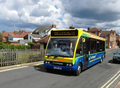 Norfolk Green 314 - YJ09LBF - Sheringham (NNR station/station approach) - 29.7.12