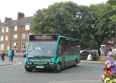 Norfolk Green 623 - YJ05XMT - Hunstanton - 31.7.12