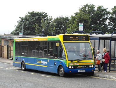 Norfolk Green 301 - YJ07EGE - Hunstanton - 31.7.12