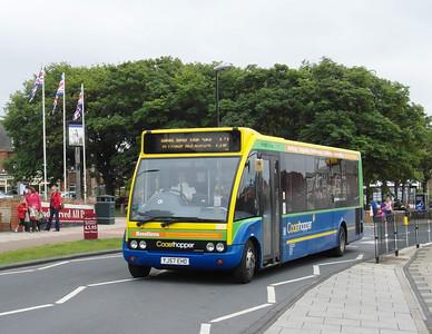 Norfolk Green 303 - YJ57EHO - Hunstanton - 31.7.12