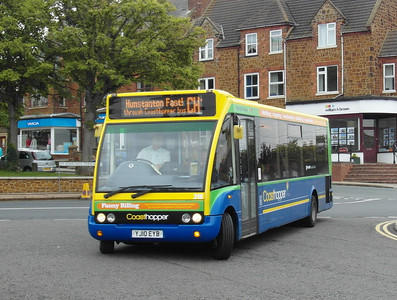 Norfolk Green 318 - YJ10EYB - Hunstanton - 31.7.12