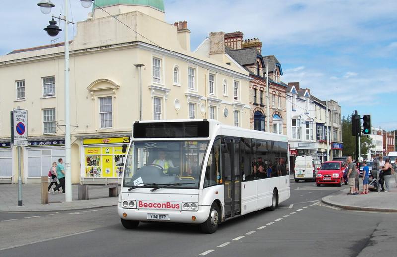 Beacon Bus Y341BWP - Bideford (Quay) - 30.7.13