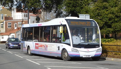 First Solent 53608 - YJ14BKN - Fareham (Hartlands Road)