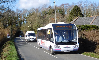 First Solent 53608 - YJ14BKN - Funtley (Honey Lane)