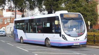 First Solent 47589 - SN14ECJ - Fareham (Hartlands Road)
