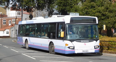 First Solent 65023 - YN54NZX - Fareham (Hartlands Road)