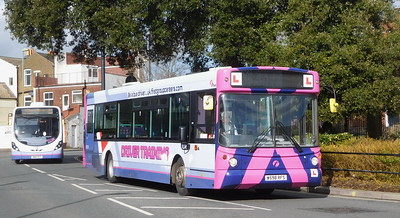 First Solent 62210 - W598RFS - Fareham (Hartlands Road)