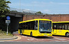 RATP Yellow Buses 10 - R10TYB - Bournemouth (railway station) - 13.7.13