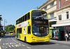 RATP Yellow Buses 180 - HF03ODU - Bournemouth (Gervis Place) - 13.7.13