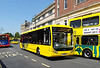 RATP Yellow Buses 102 - YJ10MDF - Bournemouth (Gervis Place) - 13.7.13