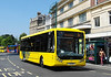 RATP Yellow Buses 107 - YJ10MDV - Bournemouth (Gervis Place) - 13.7.13