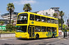 RATP Yellow Buses 111 - HF04JWK - Bournemouth (Gervis Place) - 13.7.13