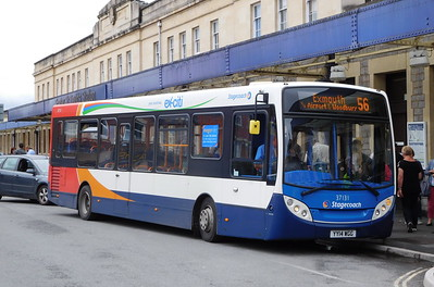 Stagecoach in Devon 37131 - YY14WGG - Exeter (St. David's railway station)