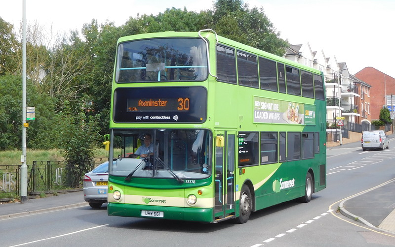 Buses of Somerset 33378 - LK53EYX - Axminster (West St)