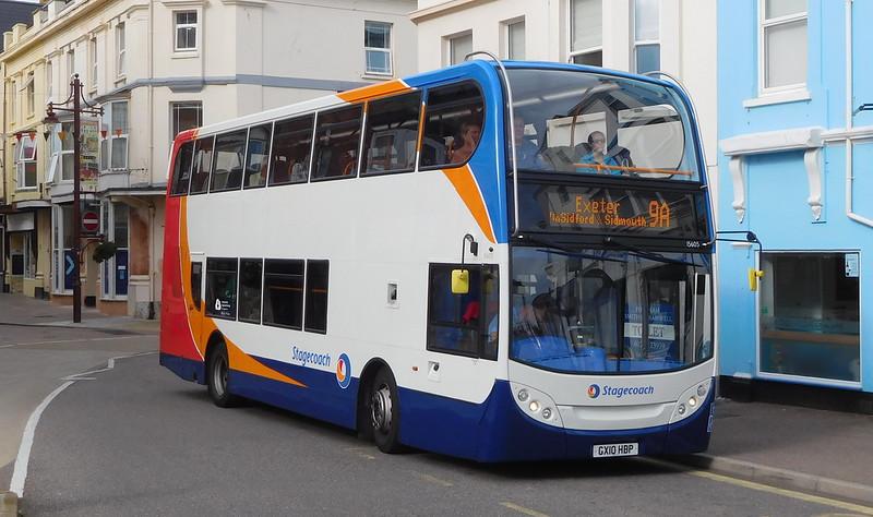 Stagecoach in Devon 15605 - GX10HBP - Seaton (Marine Place)