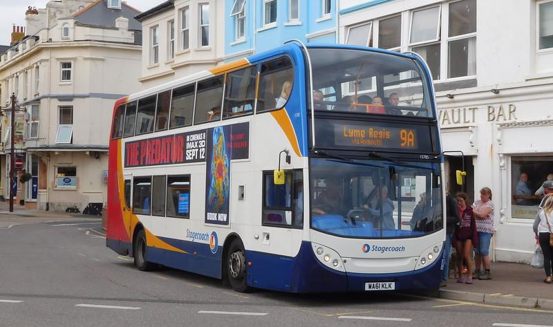 Stagecoach in Devon 15785 - WA61KLK - Seaton (Marine Place)
