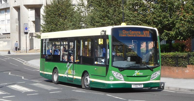 Xelabus 428 - YY66PEO - Southampton (Blechynden Terrace)