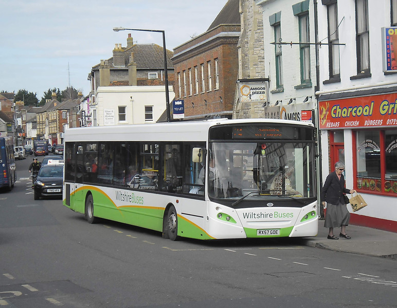 Bodmans RX57GOE - Salisbury (Fisherton St) - 10.3.12