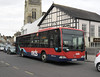 Wilts & Dorset 154 - HF55JZA - Salisbury (Fisherton St) - 10.3.12