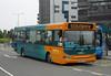 Cardiff Bus 222 - CN53AJX - Cardiff Bay (Millenium Centre) - 30.7.11