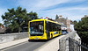 RATP Yellow Buses 107 - YJ10MDV - Christchurch (Castle St) - 6.8.13