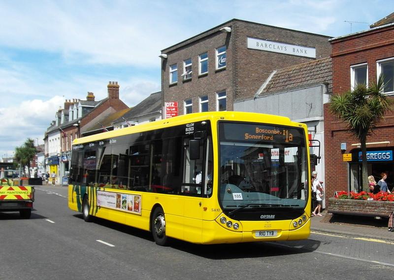 RATP Yellow Buses 10 - R10TYB - Christchurch (high street) - 6.8.13