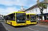 RATP Yellow Buses 101 - YJ10MDE - Christchurch (high street) - 6.8.13