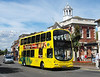 RATP Yellow Buses 182 - HF03ODW - Christchurch (high street) - 6.8.13