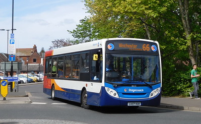 Stagecoach in Hampshire 36024 - GX07HUK - Romsey