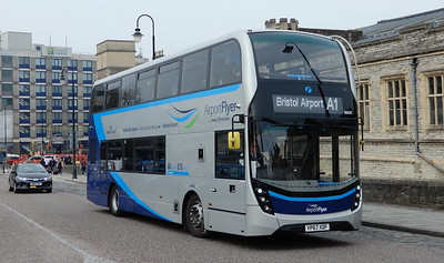 First Bristol 36835 - YP67XDF - Bristol (Temple Meads station)