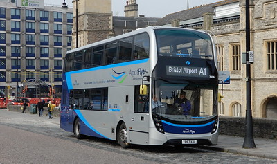 First Bristol 36836 - YP67XDL - Bristol (Temple Meads station)