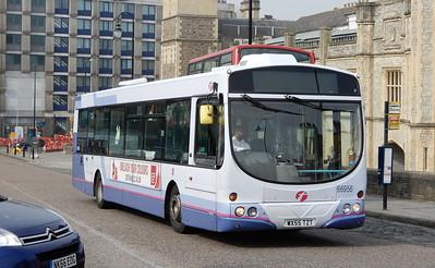 First Bristol 66956 - WX55TZT - Bristol (Temple Meads station)