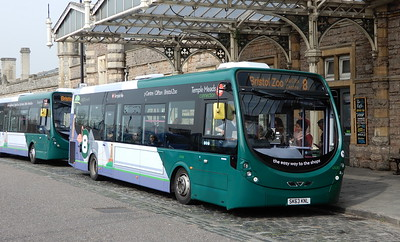 First Bristol 47438 - SK63KNL - Bristol (Temple Meads station)