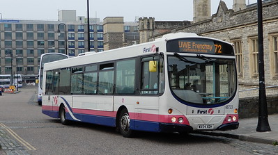 First Bristol 66723 - WX54XDH - Bristol (Temple Meads station)